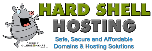 Hard Shell Hosting and Domains Logo